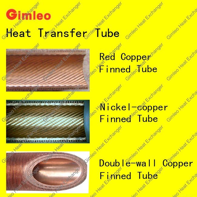 tube in shell heat exchanger/heat pump heat exchanger