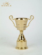 Gold Plated Metal Material Trophy Cup Awards