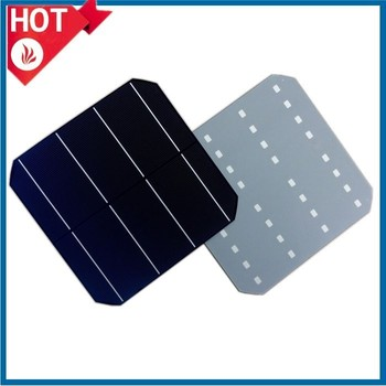 hot sale 6 inch A grade high efficiency monocrystalline solar cell made in Taiwan