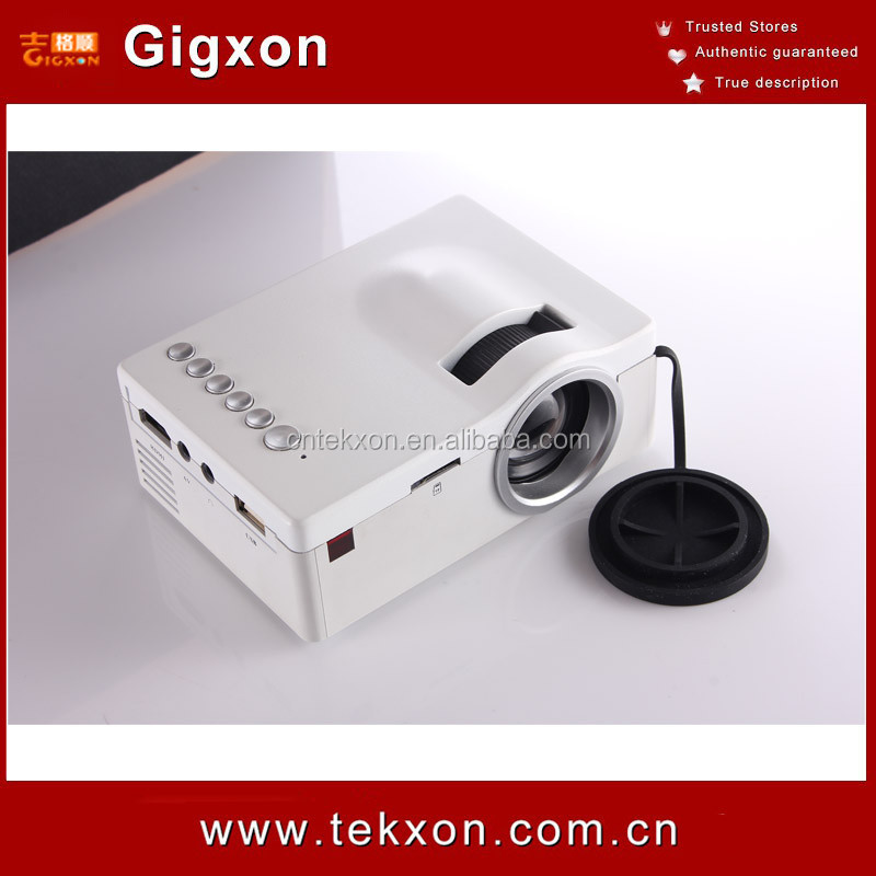 Gigxon - G18 Projector 2015 Newest Mini Pico Portable Projector HDMI Home Theater Beamer Multimedia Video Full HD 1080P