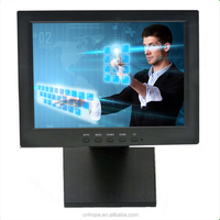 Resistive touch monitor, 12 inch touch screen lcd monitor for desktop