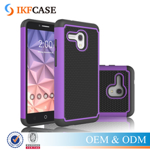 Case For Alcatel One Touch Fierce XL 5.5inch Shockproof Dual Layer Hybrid Rugged Rubber Silicone+PC Cover