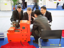 customized solutions Horizontal Brake Drum Disc Cutting Machine c9335a