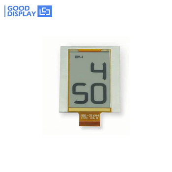 1.6''E-ink technology custom low power segment digital flexible epaper display GDE016A4