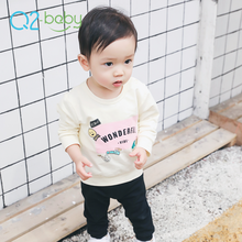 Q2-baby China Manufacturer Girl Boy Wear Clothes Cotton Baby T Shirt