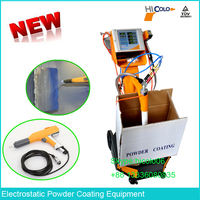 Vibration Type Box Feed Fast Color Changeable Manual Powder Coating Spray Gun Price