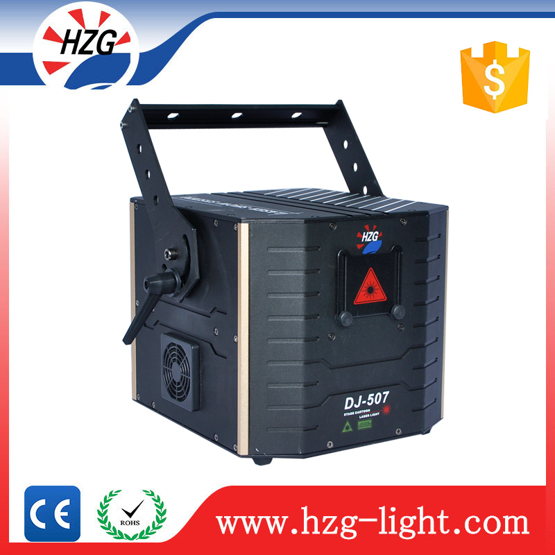 High Power Laser Show 3W RGB Multi Color Stage Animation Lase Light