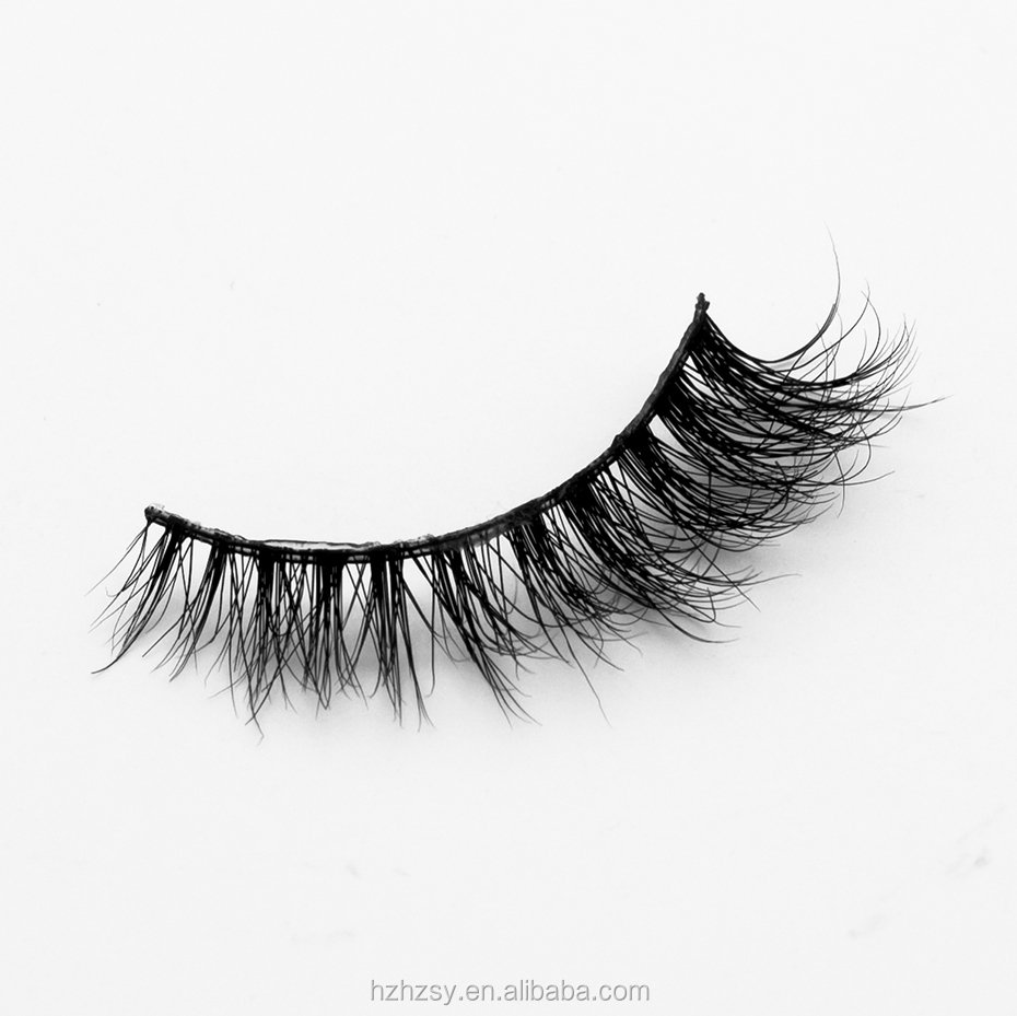 Individual Flare False Eyelashes Cluster Fake Lashes
