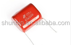 Metallized Polypropylene film Capacitors CBB81 104k 400v