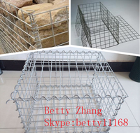 Hot dipped galvanized gabion hexagonal wire netting