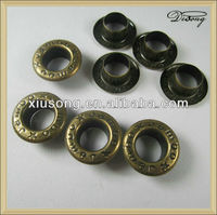 EYE76310A rivets and eyelets for shoes garment eyelets copper eyelets