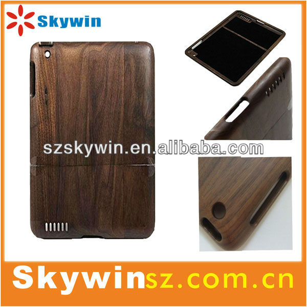 A newest wooden tablet covers and cases for ipad mini