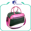 Luxury ladies leather travel bag waterproof storage travel hand bag
