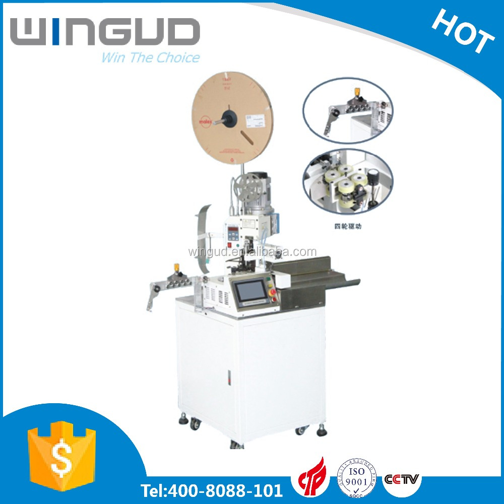 fully automatic terminal crimping machine automatic wire cutting stripping and crimping machine