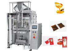 Hot Caramel Paste Form Fill Seal Stick Bag Package Machine