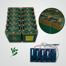 Cold resistance optionally integrating dc lithium 24v 600ah battery pack for solar power system