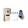 ACTOP 2.4G wifi video door phone intercom system ,support wireless unlock