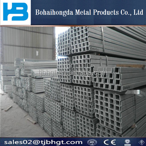 41x41 /41x21 rolled formed Steel Channels Galvanized Steel channel C Steel Profile C Channel/c shaped steel channels