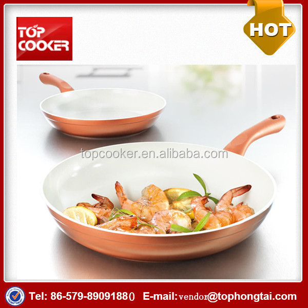 No Oil Forged Aluminum Chinese Fry Pan