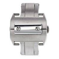 StrapsCo Deployment Clasp for Cartier Santos Watch 18mm or 21mm XL
