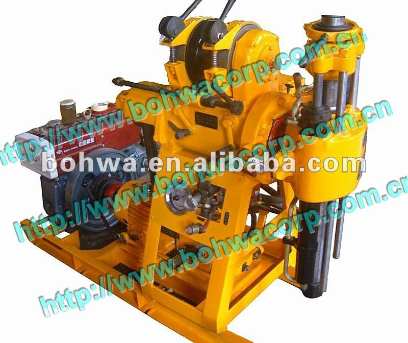 Portable mini diamond core drilling machine for mining and engineering exploration purpose