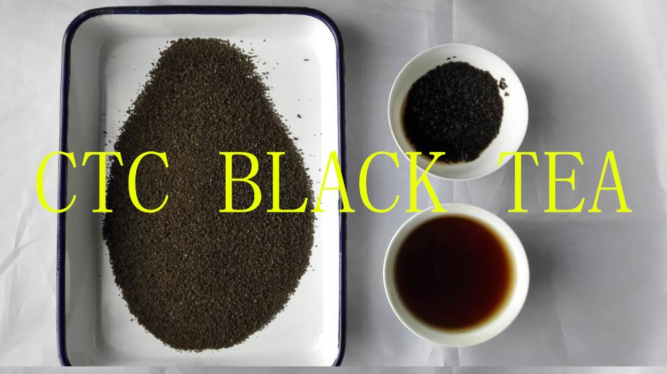 Low supply CTC black tea