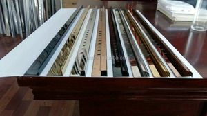 Beautiful ceramic tile edges Aluminum printing tile trim manufactory