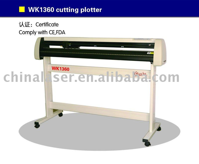 vinyl cutter cutting plotter WK1360 cutting width 1200mm