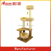 "55"" high quality wholesale cat craft cat tree"