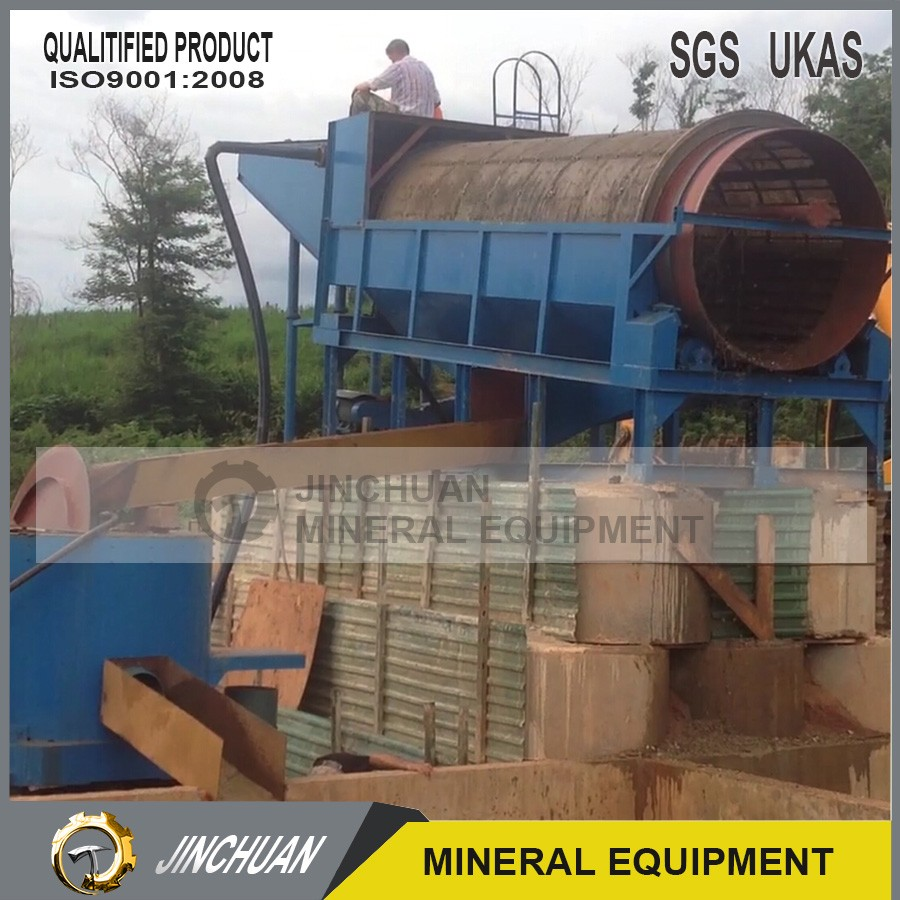100 tons per hour turnkey gold mining plant
