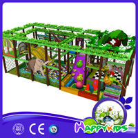 Popular spider web entertaining indoor playground equipment for restaurants