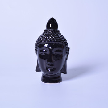 Black Ceramic Buddha piggy bank,ceramic money bank,money saving box,Hot Sales