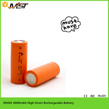 2015 the product sell like hot cakes MNKE IMR26650 KRated high Capacity 4000 mAh battery