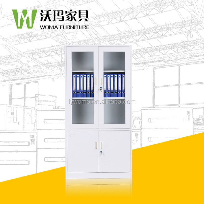 Steel Shelf U003cstrongu003ecabinetu003c/strongu003e With U003cstrongu003eglassu003c