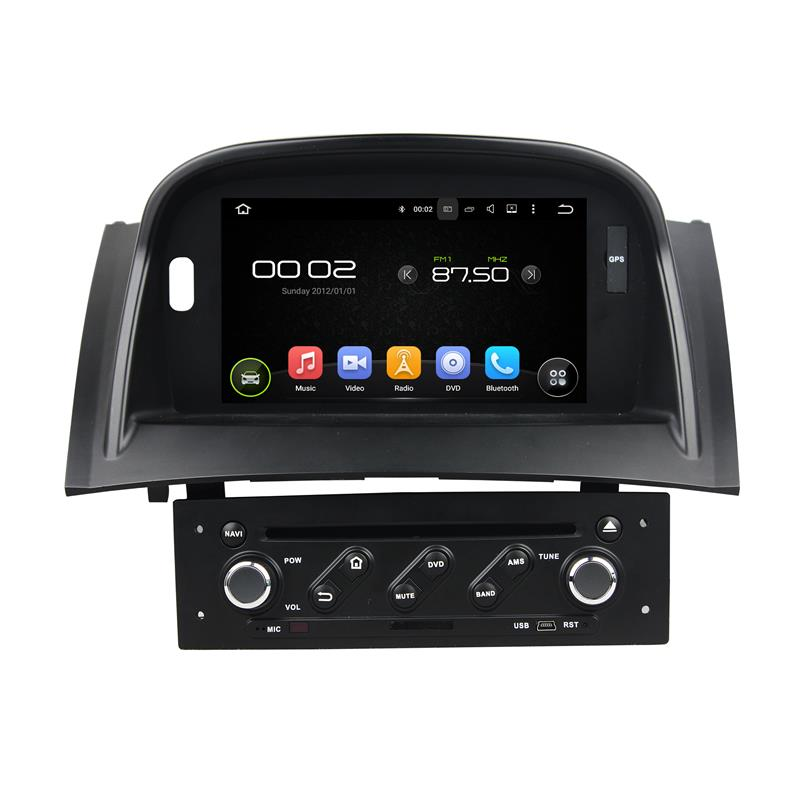 great Bluetooth excellent sound and works well android 5.1.1 2 din car dvd navigation for megane 2