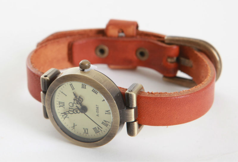korea leather bracelet watch,bracelet,leather bracelet(made in korea)