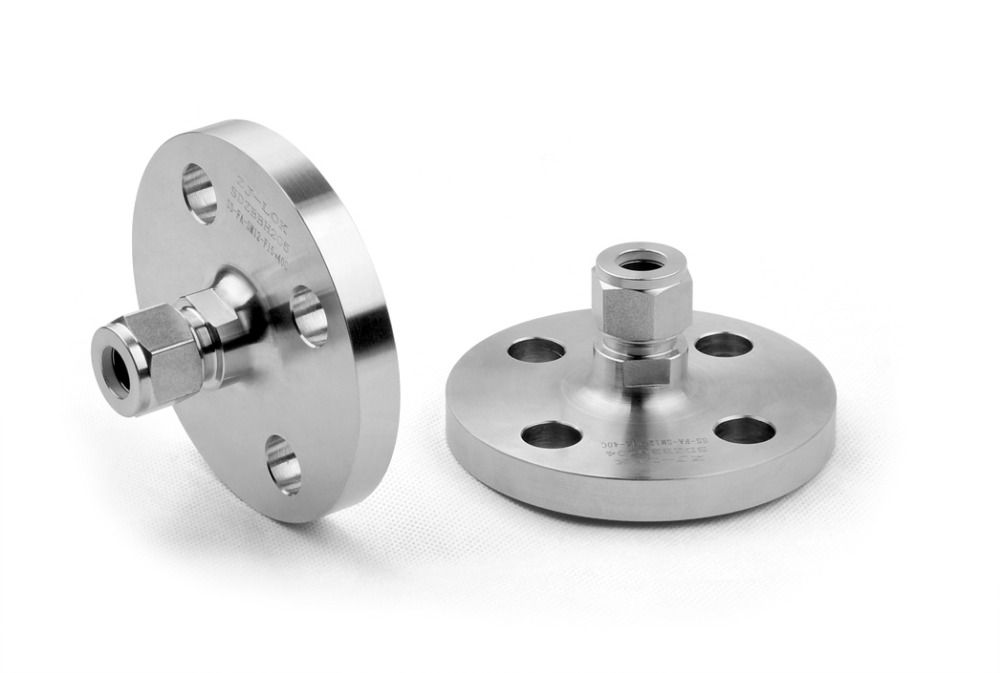 Stainless Steel Hydraulic Flange Adapter, Ease Transition from Pipe to Tubing