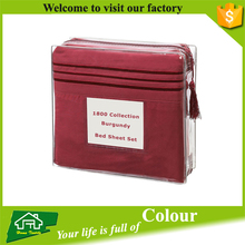 Super Silky Soft Luxury Wholesale Premier Bed Sheet 1800/1500 Series