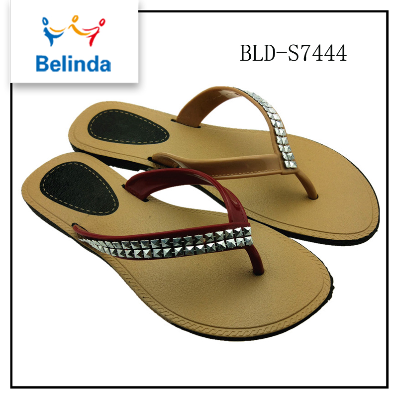 2017 new style korea pu sole sandals women fancy bedroom slippers