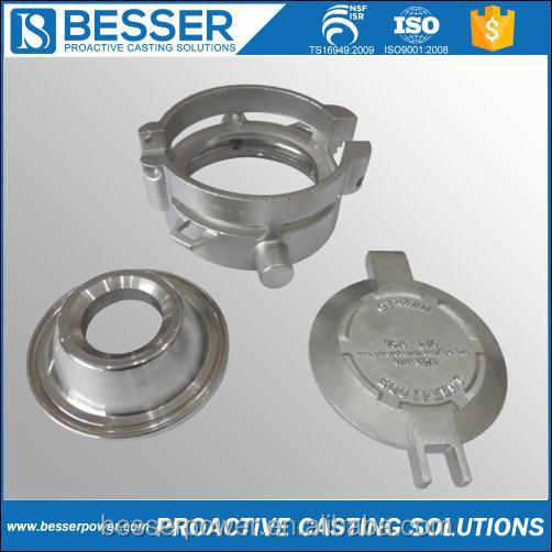 302 stainless steel Q345A casting steel 4340 cast iron investment casting wax honeywell valve plant