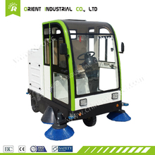 E800LC street automatic sweeper road cleaning machine