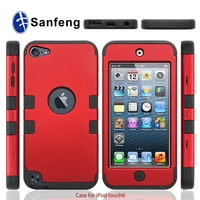 Sanfeng Hot Sale Korea Fashion Style For Ipod Touch 6 Cover Case/Hybird Case For Touch 6