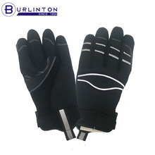 Super Comfort Fit Highly Reflective Black Utility Glove