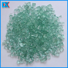 "1/4"" Colored Decorative Tempered Broken Decorative Glass For Fireplace"