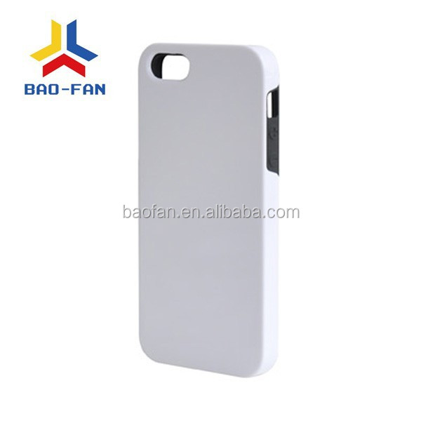 hot!! 3D sublimation TPU dual protective phone case for IP5,personal design.