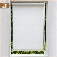 Internal day and night shades window white roller smart blinds