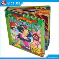 Factory direct sale custom cheap board child book / coloring book printing