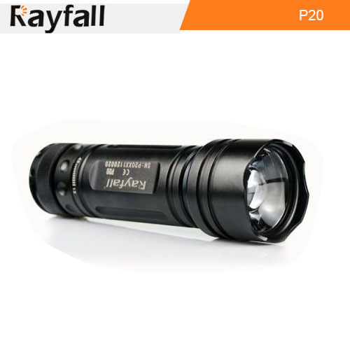 Wholesale outdoor Aluminum Rechargeable LED flashlights