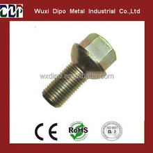High quality and low price conical lug bolts, conical bolts