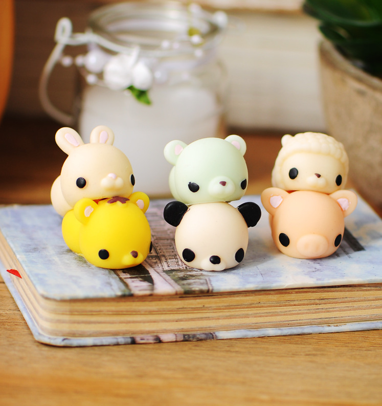Popular office stress relieving soft squishy silicone penis cheap squishy mochi animal toys
